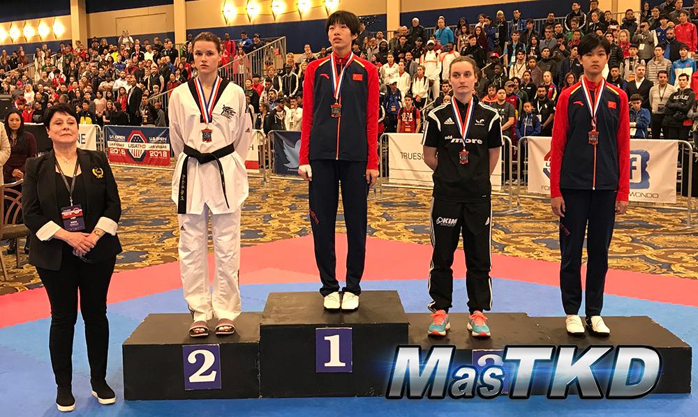 Podio_F-53_SeniorG2-Taekwondo-UsOpen