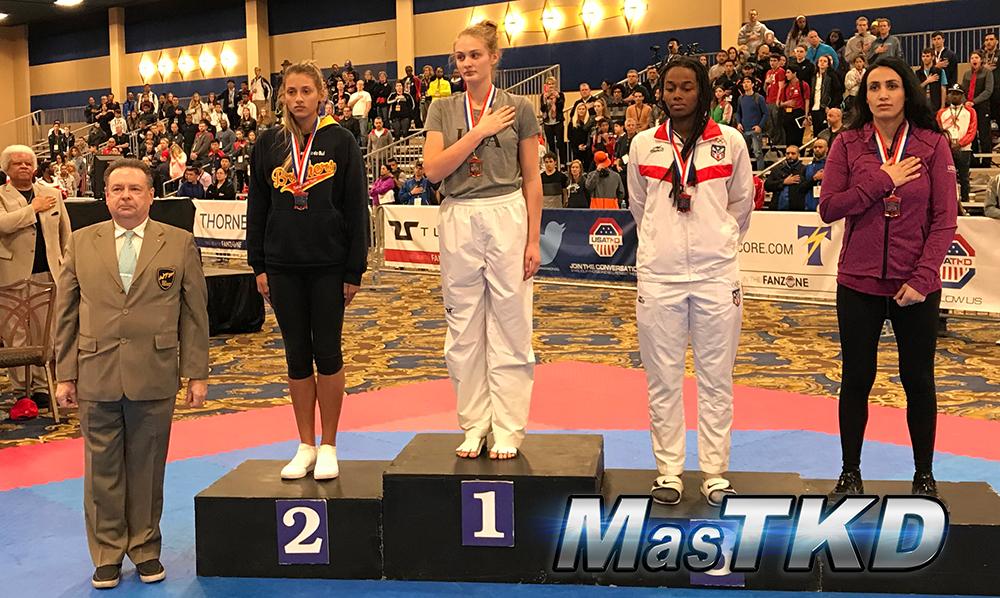 Podio_F-73_SeniorG2-Taekwondo-UsOpen