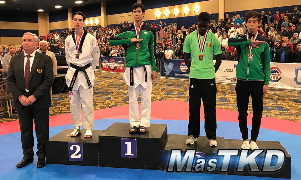 Podio_M-54_SeniorG2-Taekwondo-UsOpen