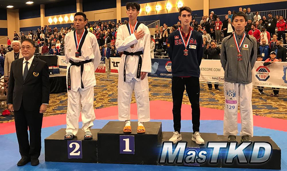 Podio_M-58_SeniorG2-Taekwondo-UsOpen_