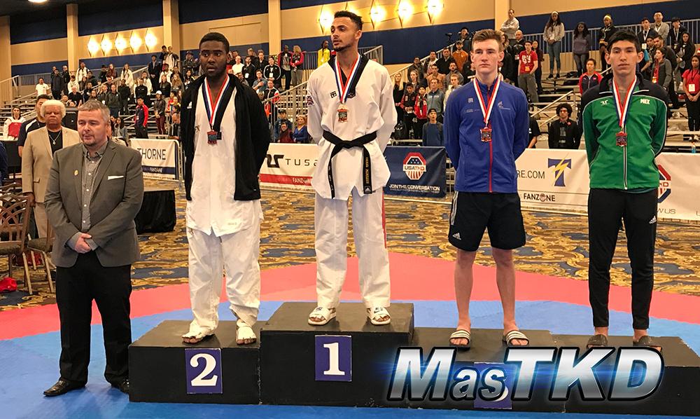 Podio_M-68_SeniorG2-Taekwondo-UsOpen