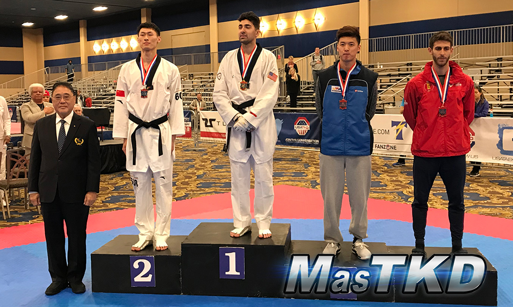 Podio_M-74_SeniorG2-Taekwondo-UsOpen
