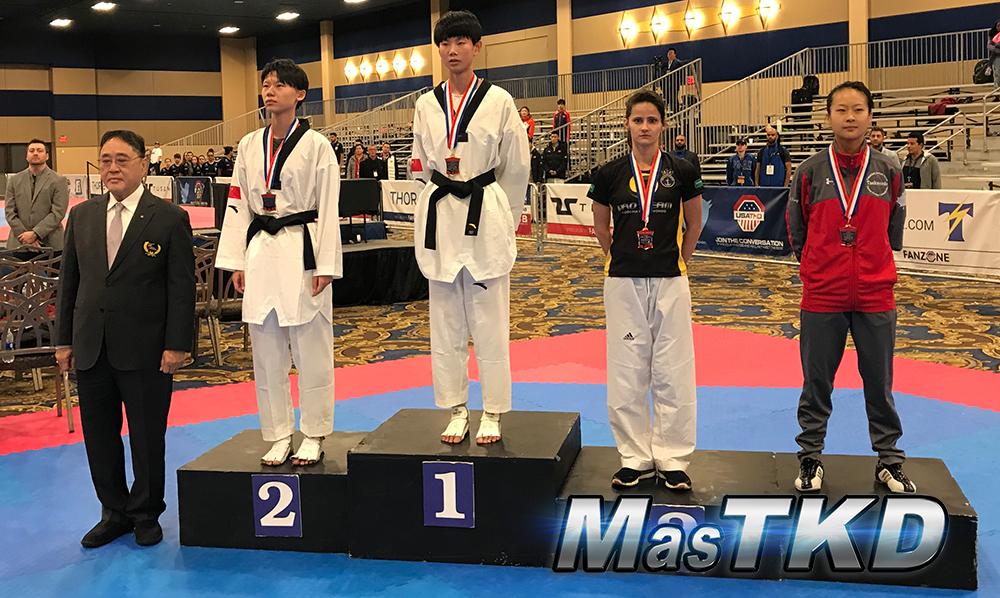 Podio_F-46_SeniorG2-Taekwondo-UsOpen
