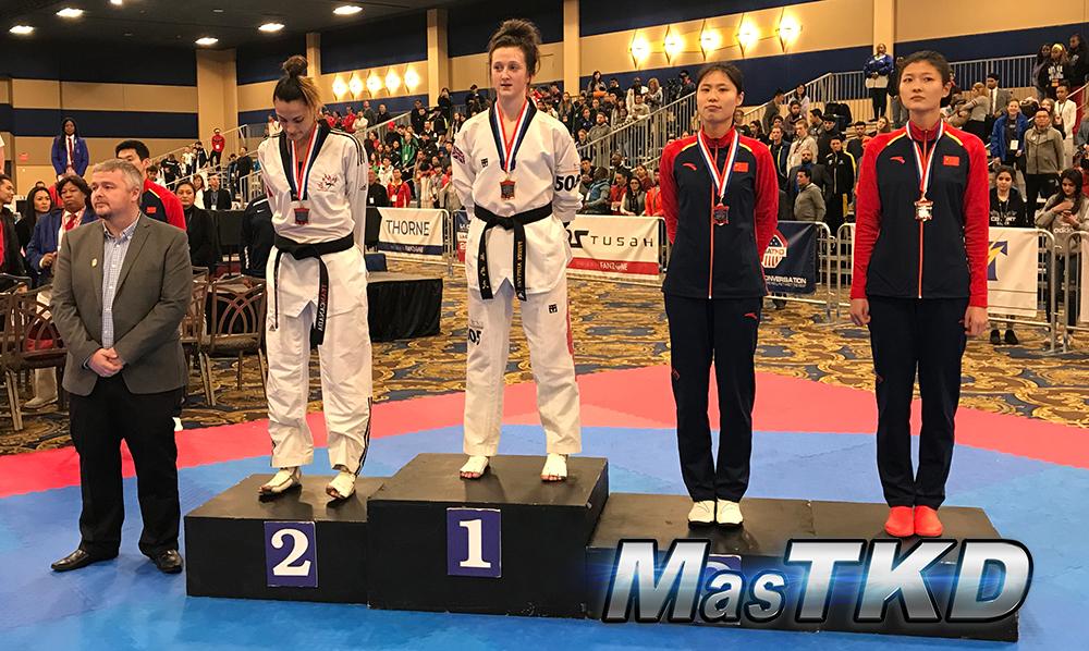 Podio_F-67_SeniorG2-Taekwondo-UsOpen