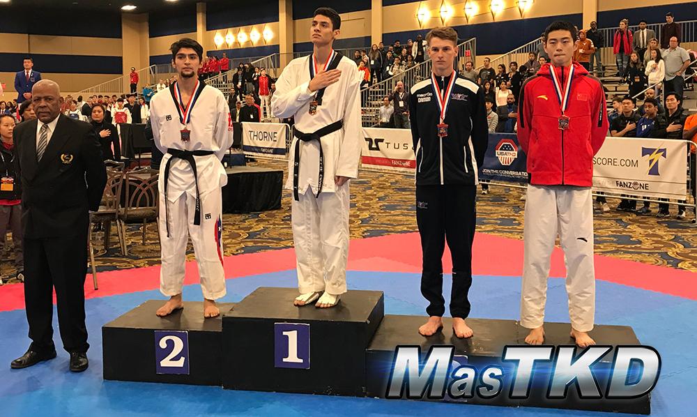 Podio_M-63_SeniorG2-Taekwondo-UsOpen