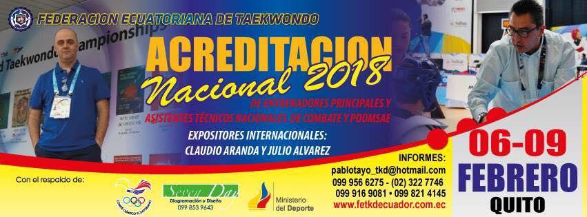 Curso Nacional para Entrenadores en Ecuador