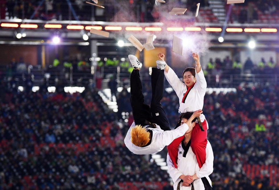 Exhibición de Taekwondo WT