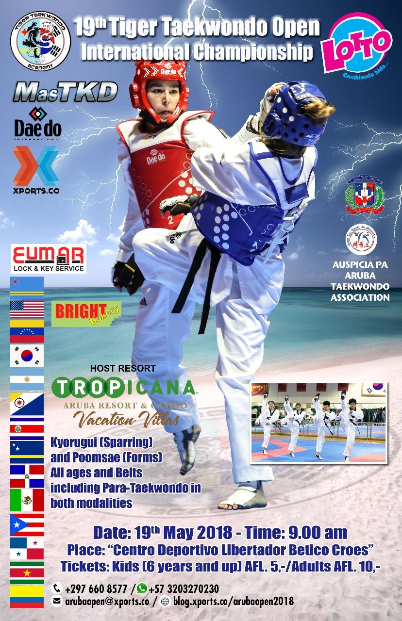 19º Tiger Taekwondo Open Internacional Championship