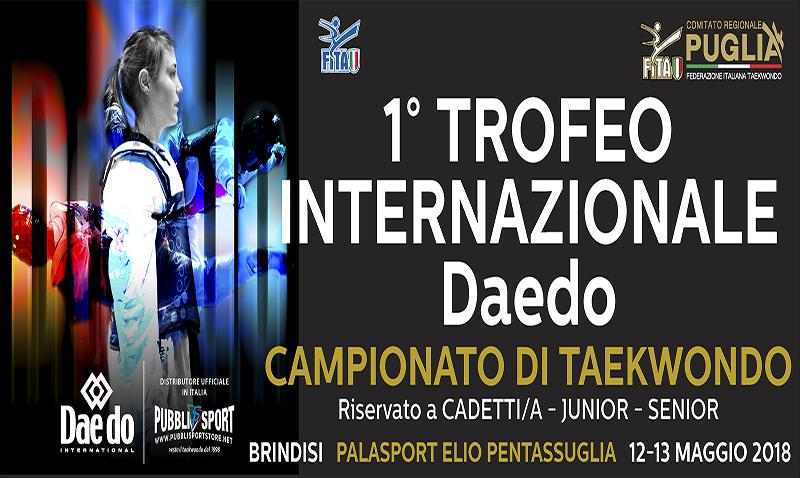 1º Trofeo Internazionale Daedo