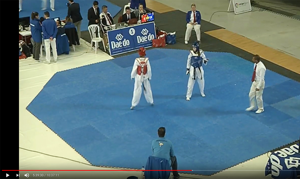 Streaming del Open de España de Taekwondo G1
