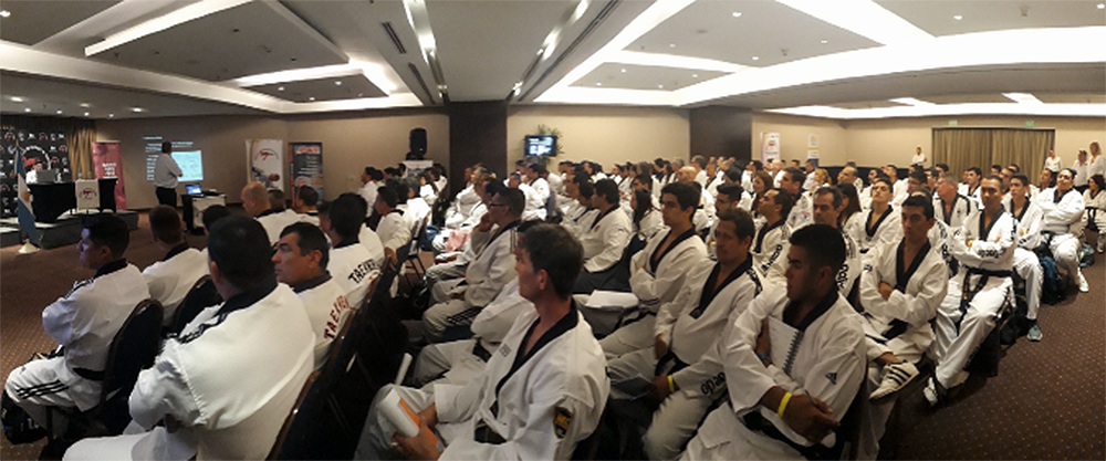 Argentina capacitó a sus entrenadores de Taekwondo