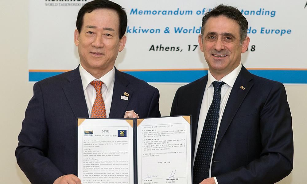 La Europea firmó memorándum de entendimiento con Kukkiwon
