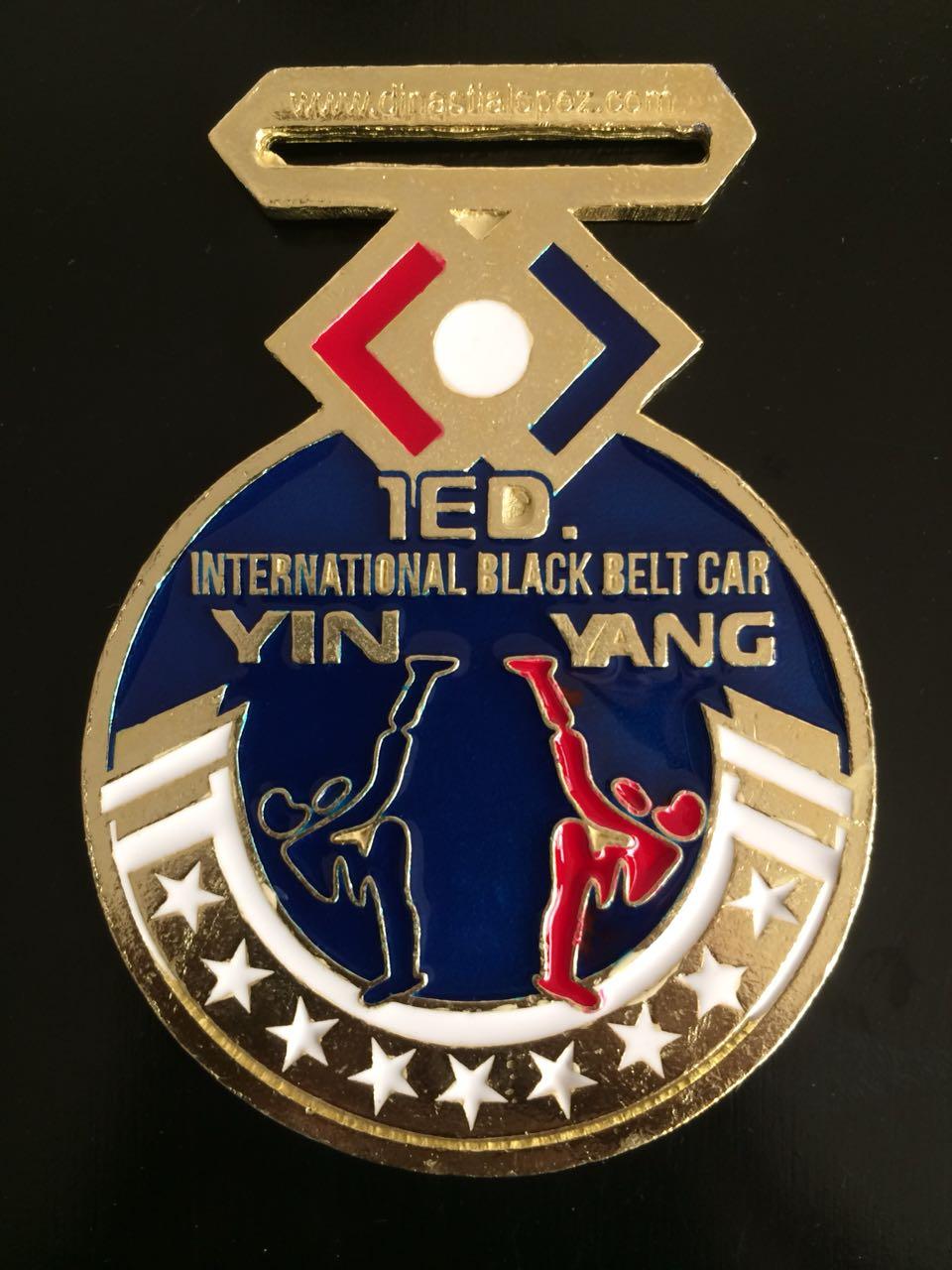 Medalla Yin Yang