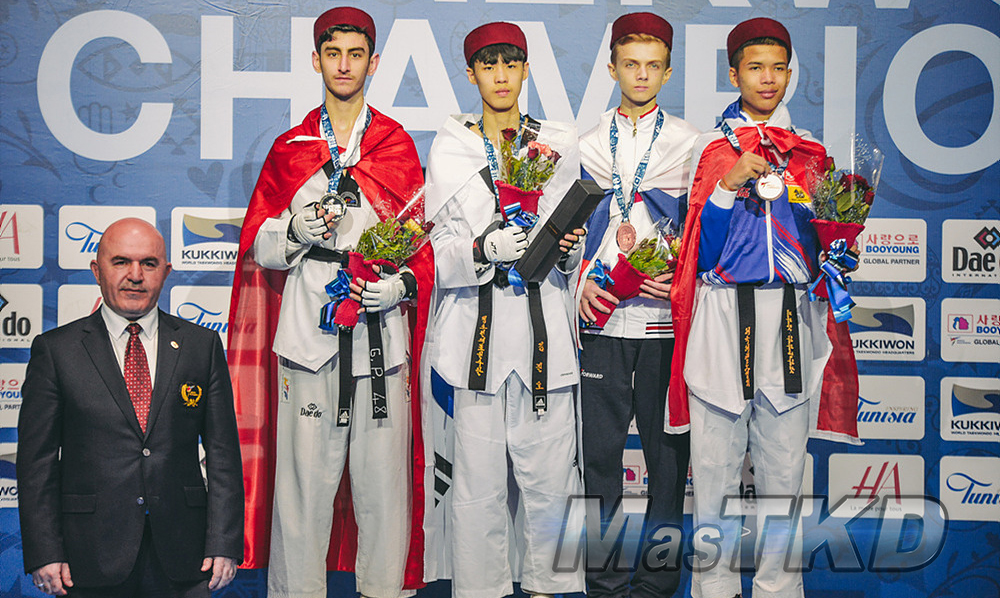 20180409_M-48_World-Taekwondo-Junior-Championships-Podio