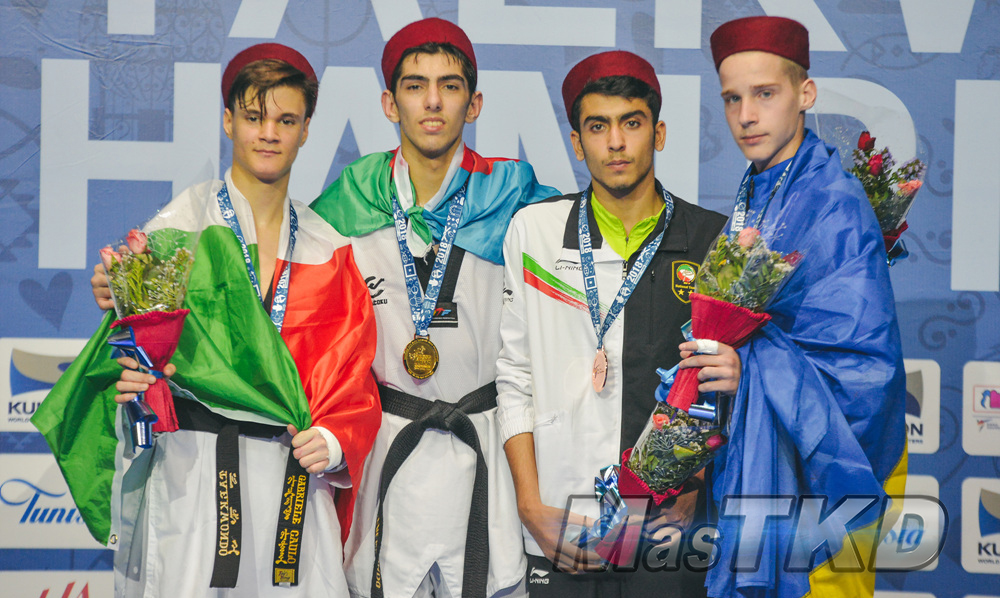 20180411_M-63_World-Taekwondo-Junior-Championships-Podio