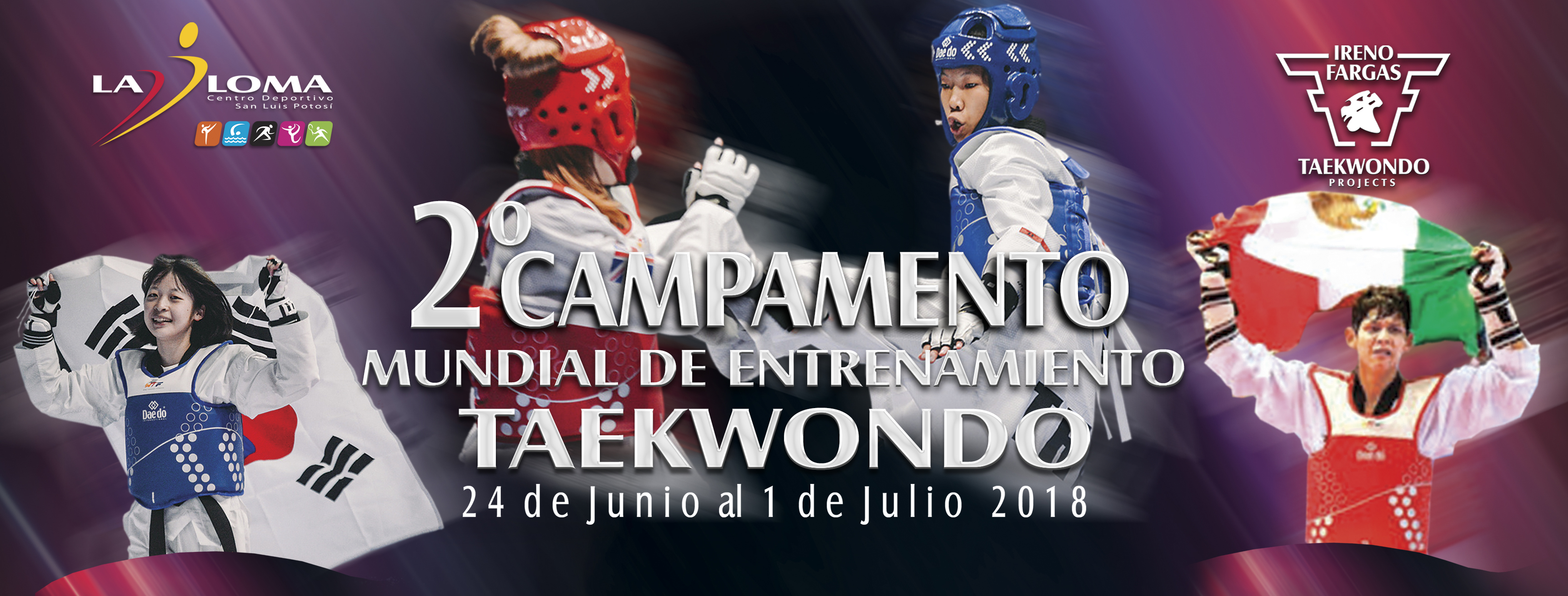 """2do Campamento Mundial de Entrenamiento """"Verano Elite 2018"""""""