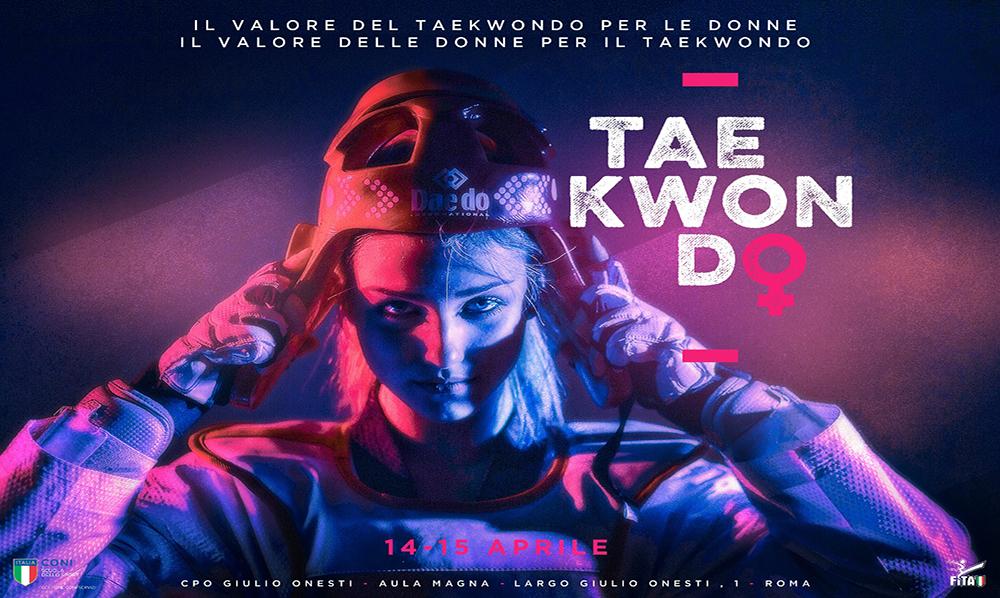 Federación Italiana de Taekwondo impulsa participación de la mujer