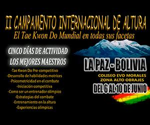 Segunda versión del campamento Internacional de Altura