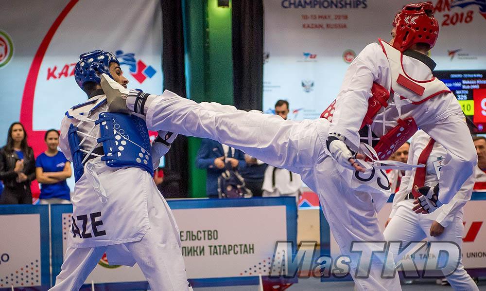 Kazan-2018_Campeonato-Europeo-de-Taekwondo_Combate