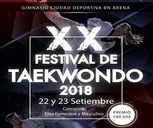 XX Festival de Taekwondo 2018
