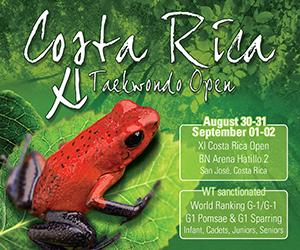 XI Costa Rica Taekwondo Open