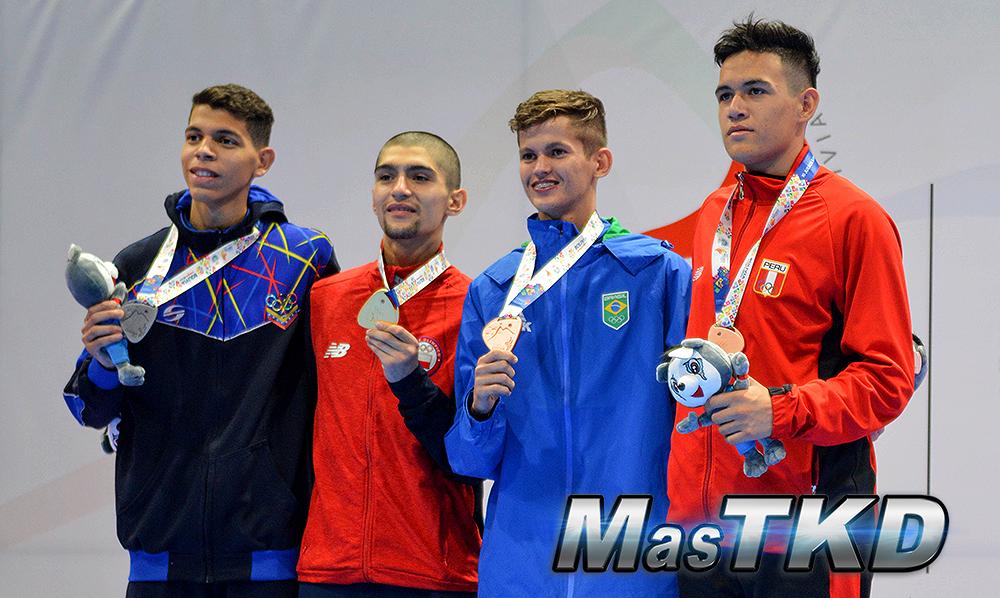 Podio-M-58_Juegos-Suramericanos_Cochabamba-2018_Taekwondo