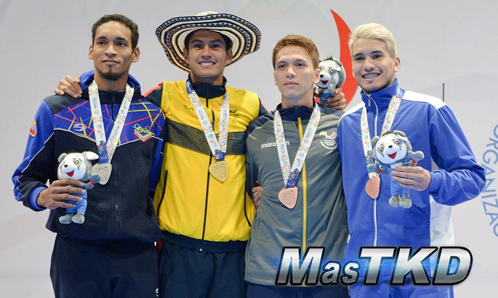 Podio-M-80_Juegos-Suramericanos_Cochabamba-2018_Taekwondo