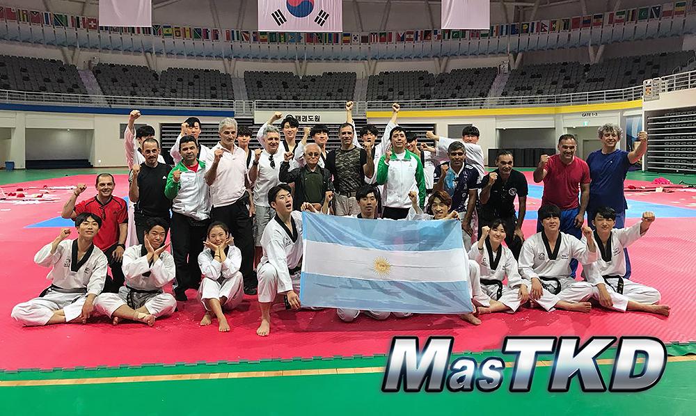 Argentinos se capacitaron técnicamente en Corea