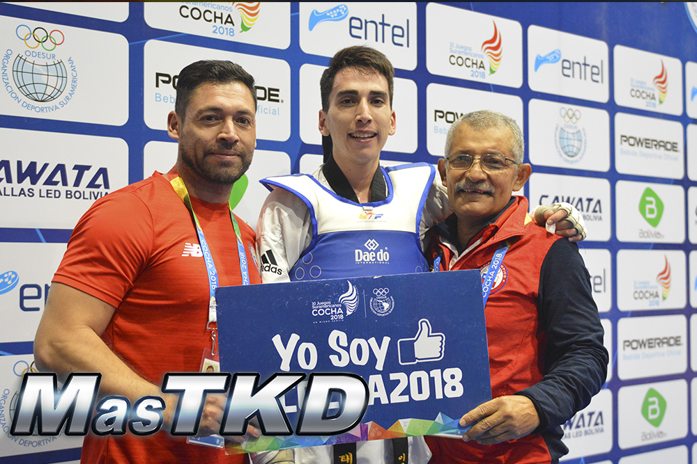Ignacio Morales, Ramón Arias, Luis Fredes, Chile, Suramericanos 2018, Cochabamba