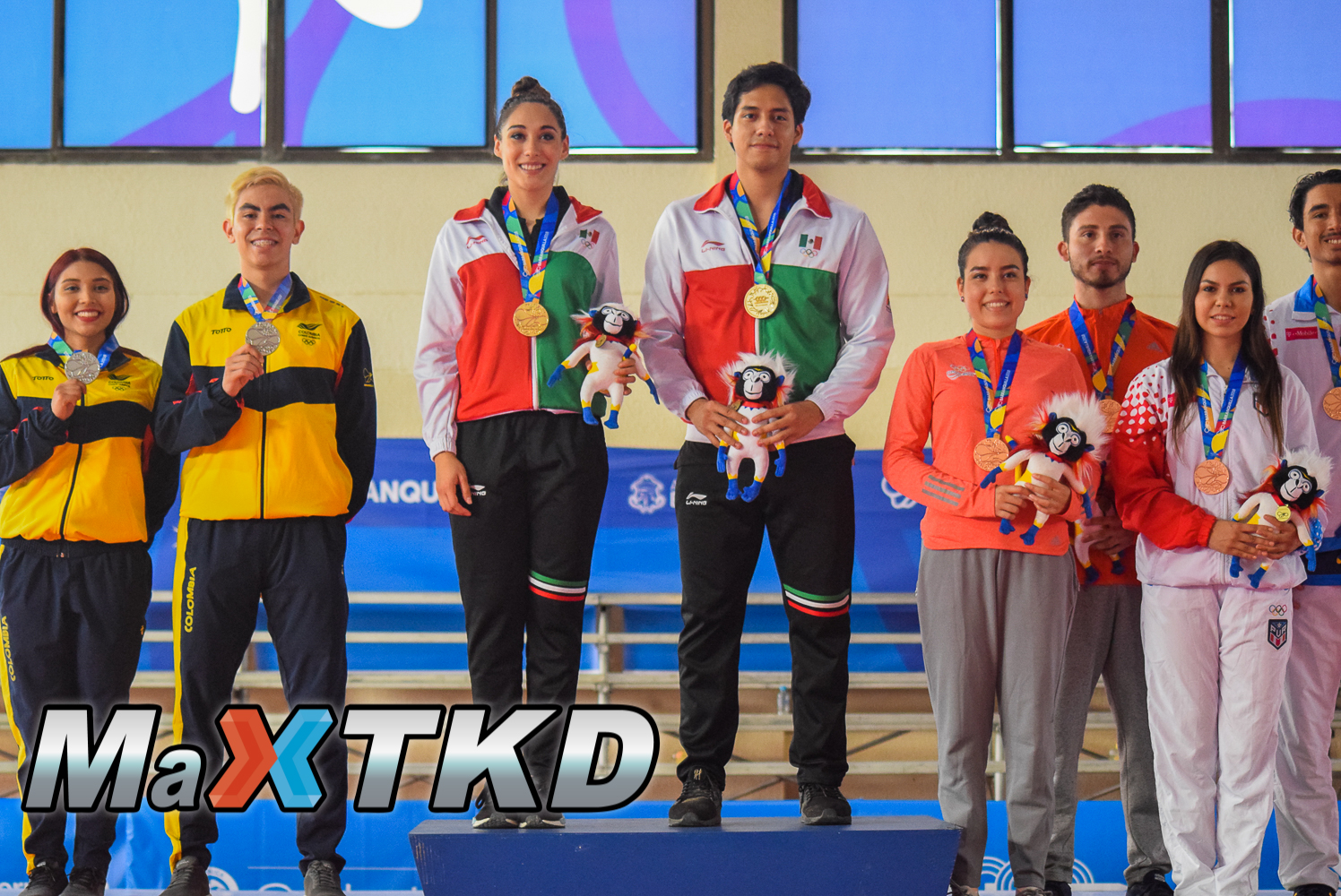 20180722_JCAC-Barranquilla2018_podio-Poomsae-Parejas-Mixto
