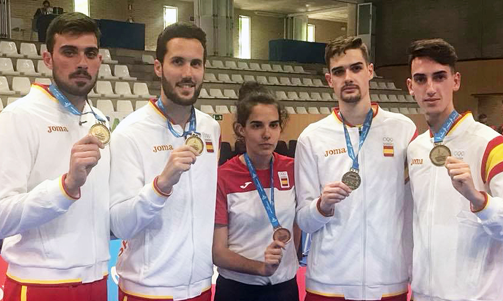 El Taekwondo español conquista los Juegos del Mediterráneo