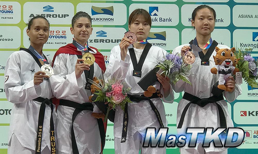 Nur Tatar dice adiós al Taekwondo