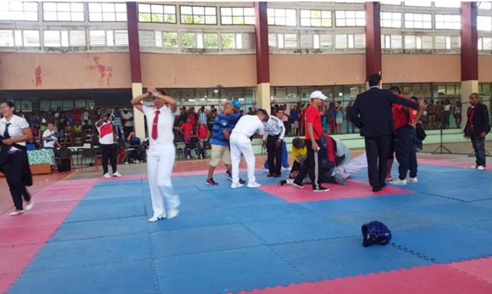 Taekwondista cubano muere en medio del combate