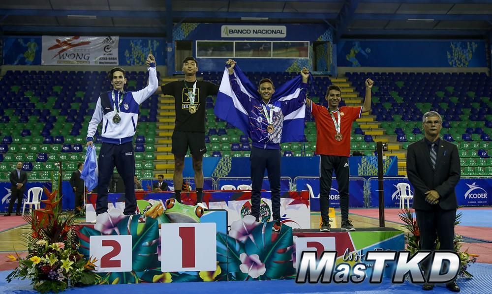 Podio_M-54_G1-CostaRicaOpen_Taekwondo