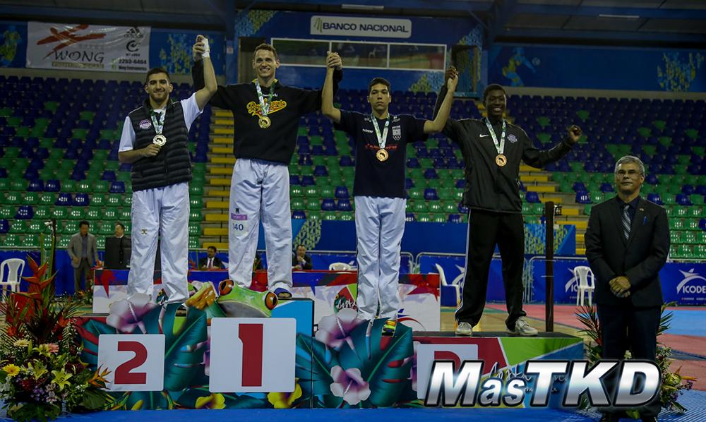 Podio_M-87_G1-CostaRicaOpen_Taekwondo