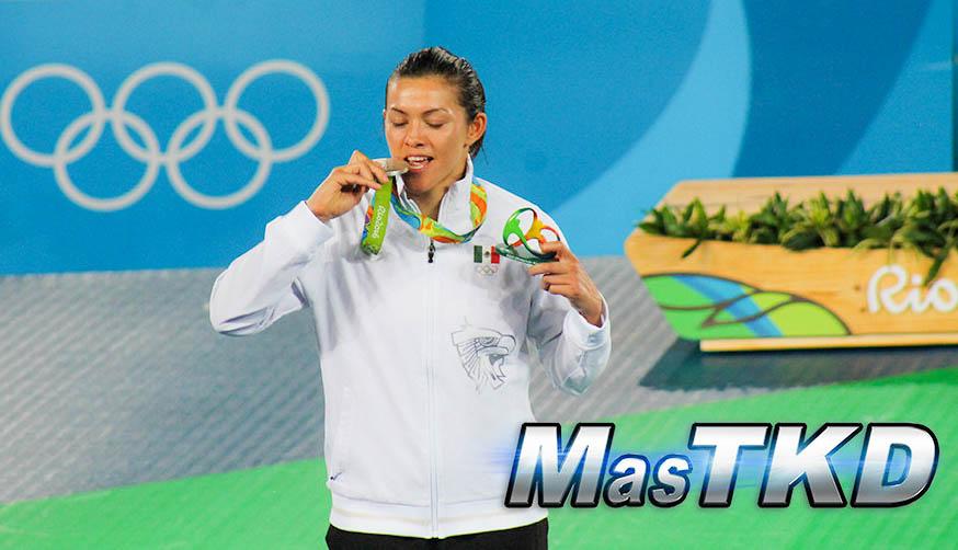 Maria Espinoza, Multimedallista olímpica de Taekwondo de México