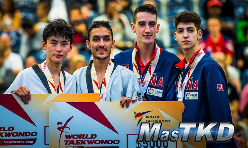 Day-2_Manchester-2018-World-Taekwondo-Grand-Prix_Podio_M-58