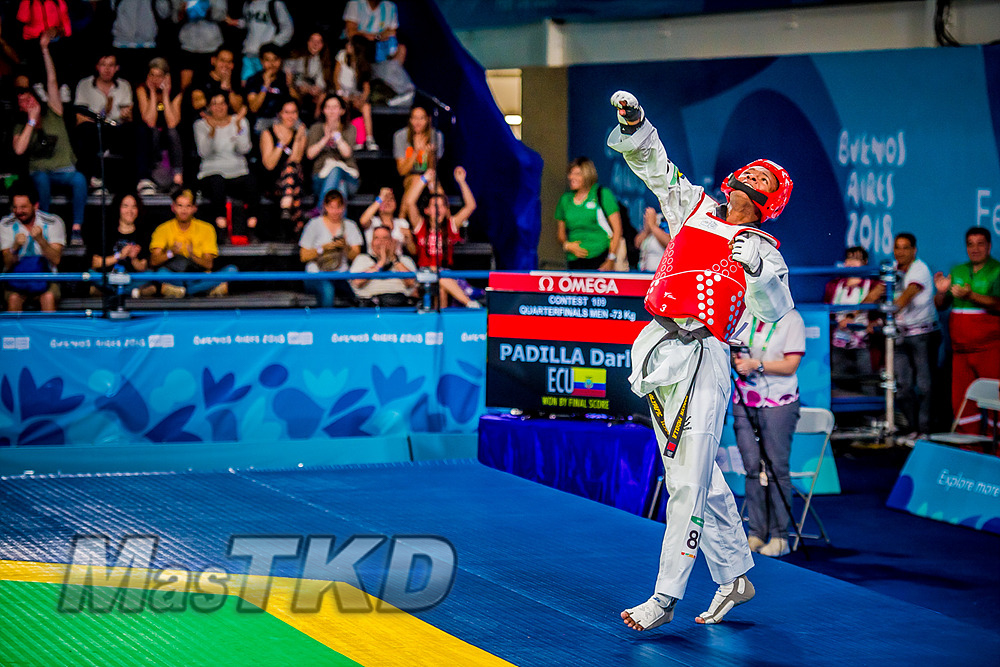 Darlyn Padilla Juegos Olímpicos de la Juventud Buenos Aires 2018