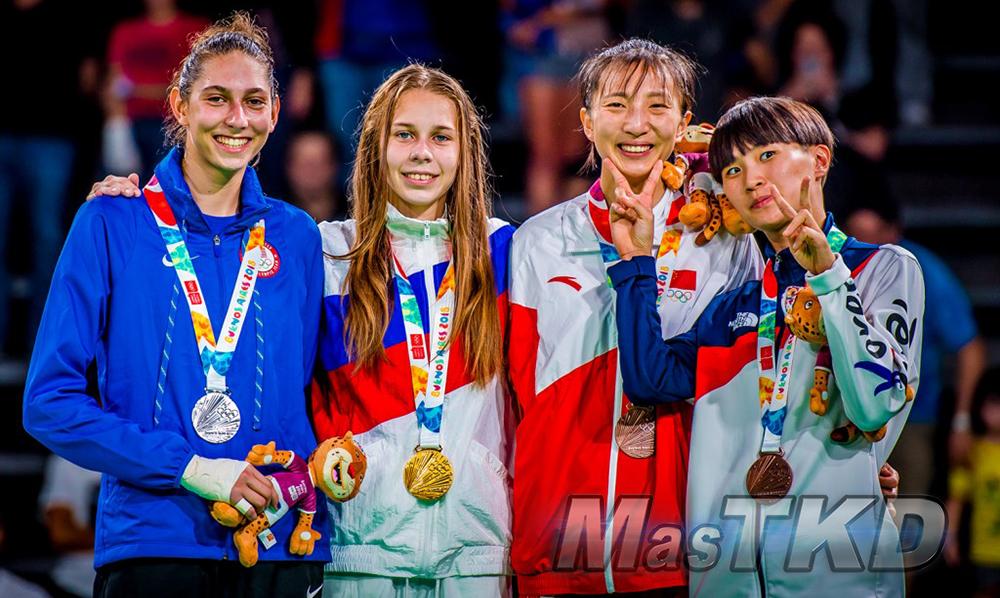 _YOG_Buenos-Aires-2018_Podio-Taekwondo_F-49_Juegos-Olimpicos-de-la-Juventud