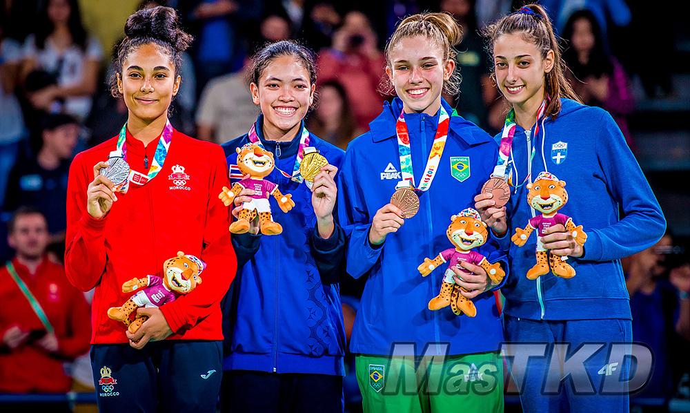 _YOG_Buenos-Aires-2018_Podio-Taekwondo_F-55_Juegos-Olimpicos-de-la-Juventud