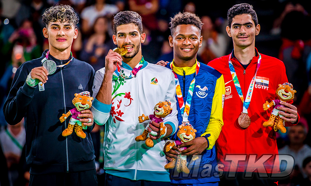 _YOG_Buenos-Aires-2018_Podio-Taekwondo_M-73_Juegos-Olimpicos-de-la-Juventud