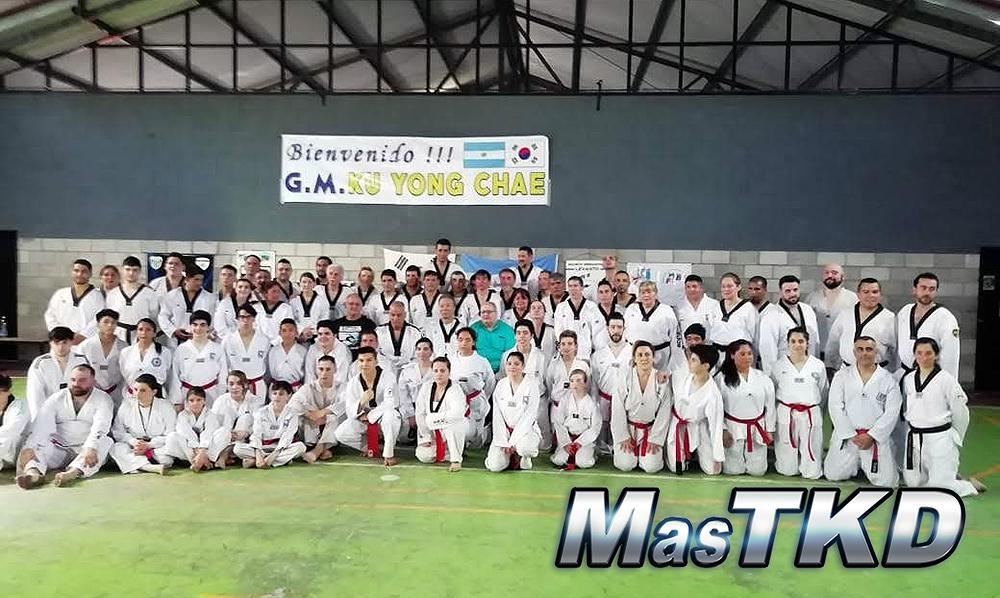Ku Yong Chae brindó una clase en la Provincia de Buenos Aires