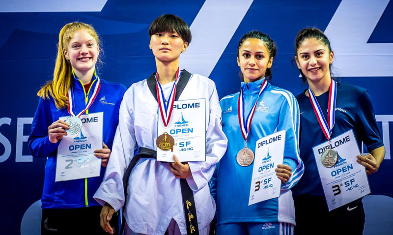 _F-46_Podium_French-Taekwondo-Open-2018