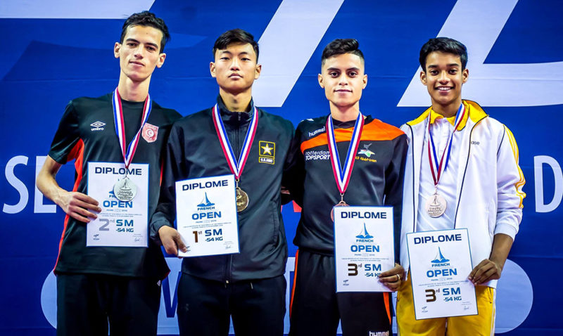 _M-54_Podium_French-Taekwondo-Open-2018