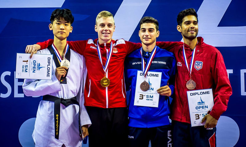 _M-68_Podium_French-Taekwondo-Open-2018