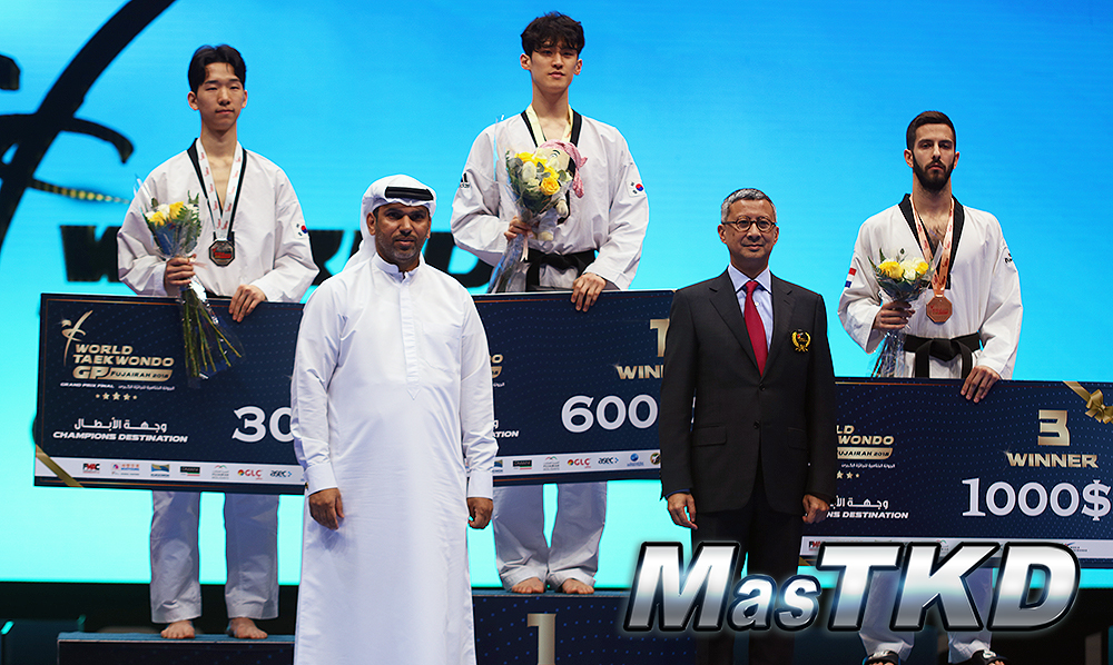 World Taekwondo Grand Prix Final, Fujairah 2018