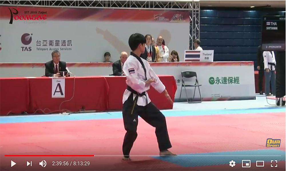 """Taipei 2018"" World Taekwondo Poomsae Championships (Day 3)"
