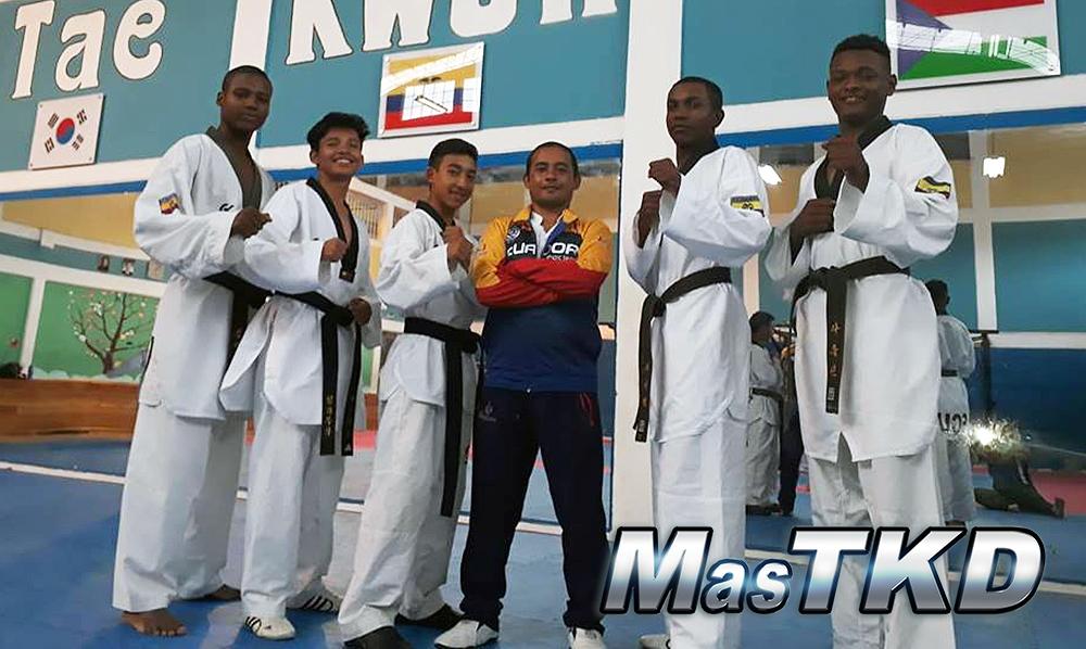 Ibarra cierra el año dejando en alto al Taekwondo de Ecuador