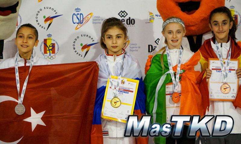 Podio_Europeo-Taekwondo-Cadete_FIN-Femenino_-29-Kg