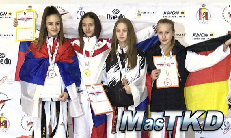Podio_Europeo-Taekwondo-Cadete_LIGHT-Femenino_-44-Kg